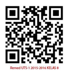Barcode Remed UTS 1 kelas 8